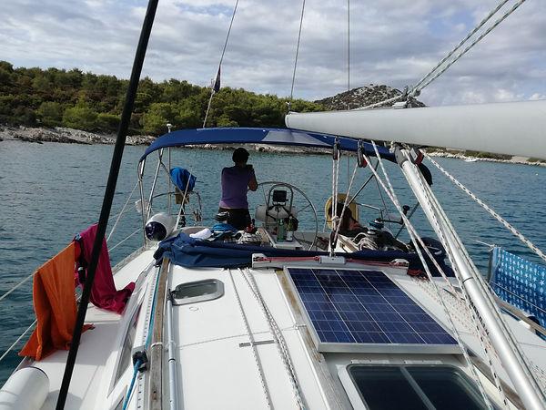 one day ailing murter kornati,trip to kornati,siling and bicycling croatia murter kornati,one week sailing croatia,sailing school croatia