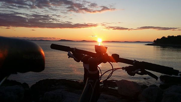 bicycling and sailing murter croatia,1 day sailing murter,1 day sailing vodice, 1 day sailing pirovac