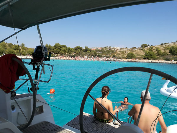 oneday sailing murtr,bicycling and sailing murter croatia