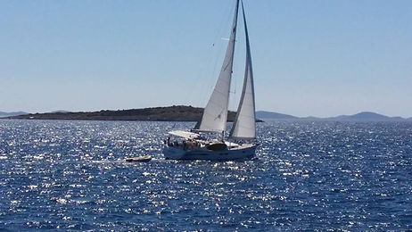 sailing week croatia,one day sailing murter kornati,bike and sailing croatia bonsailing school jezera