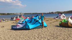 kiteboarding school croatia murter