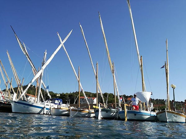 tour with traditional boat latin sail, 1 day sailing murter tisno, trip to kornati with sailing boat,sailing school murter croatia,kiteboarding school murter croatia