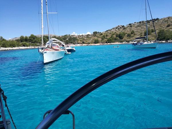 one week sailing croatia,one ay siling murter kornati,saiing andbike croatia,rnt a skipper