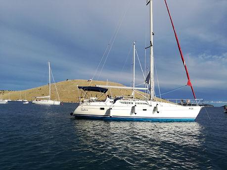 jedenje murter jezera,kiteboarding croatia,Škola jedrenja murter,sailing school croatia,škola jedrenja hrvatska