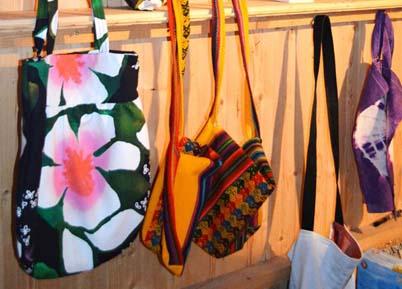 Schöne selbstgenähte Taschen