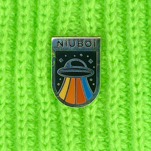 NIUBOI x Fingers Crossed Enamel Pin