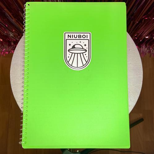 NIUBOI UFO Sticker 🛸