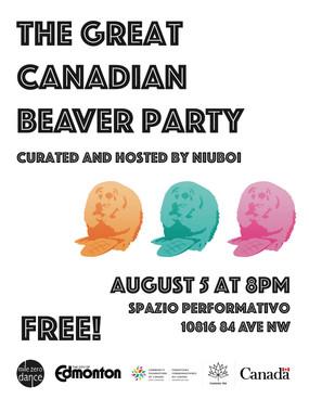 Beaver Image by Robyn Slack Poster design by Julie Ferguson