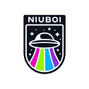 Colour_Transparent_NIUBOI Logo Set from