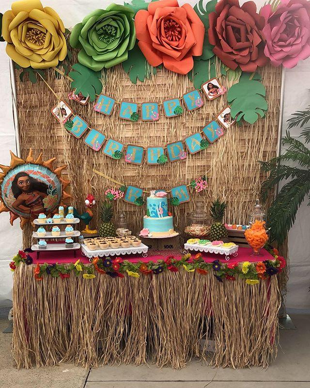 #Moana theme #party #decor #209 #turlock