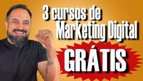 3 Cursos TOTALMENTE GRATUITOS de Marketing Digital