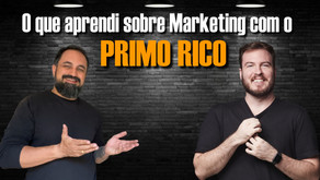 O que aprendi com o PRIMO RICO sobre Marketing | feat Thiagro Nigro