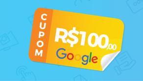 GRATIS - Cupom de R$ 100,00 para anunciar no Google Adwords