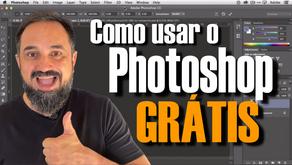 Como usar o Photoshop GRÁTIS e os melhores editores de imagens GRATUITOS