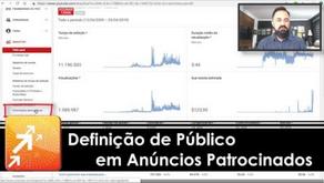 Definição de Público em Anúncios Patrocinados