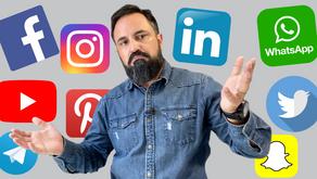 As redes sociais mais importantes para o marketing digital