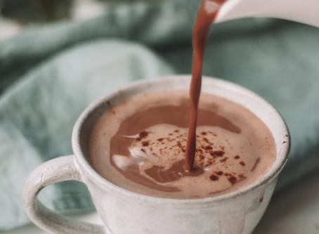 Healthy Hot Chocolate (Dairy-free, Refined Sugar-free)