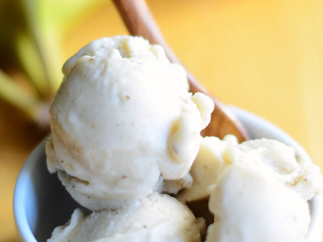 How to Make Creamy Banana Ice Cream