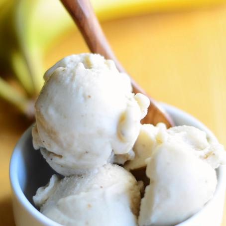 How to Make Creamy Banana Ice Cream