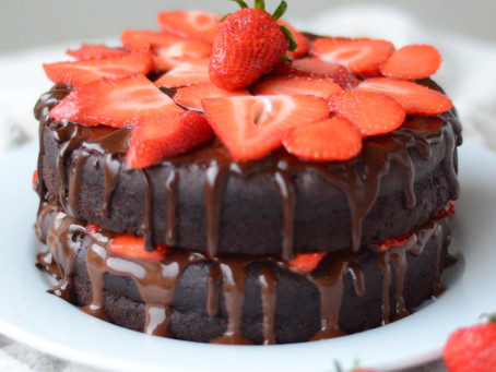 Gluten-Free Chocolate Cake with Chocolate Ganache