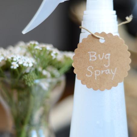 All-Natural Organic Bug Spray (Insect Repellant)