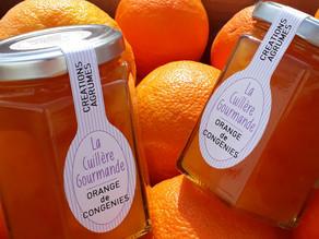"""La Cuillère Gourmande, le retour de nos confitures artisanales """"Orange de Congénies"""""""