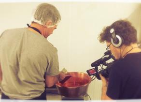 TV5 Monde : Tournage en cours....              nos confitures artisanales à l'honneur