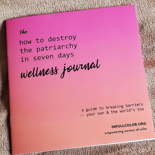 the how to destroy the patriarchy in seven days wellness journal