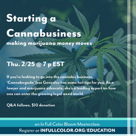 02-2021 Cannabusiness Masterclass Flier.
