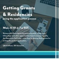 04-2021 Grants and Residencies flier.png