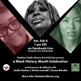 Black History Month Hoboken Public Libra