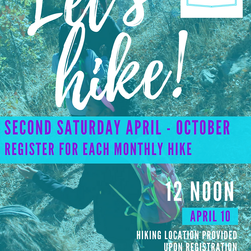 Let's Hike - April