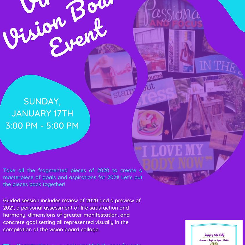 Virtual Vision Board Event