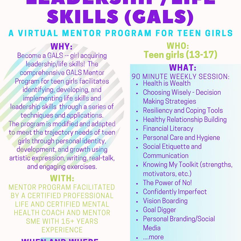 GALS Mentor Program 13-17