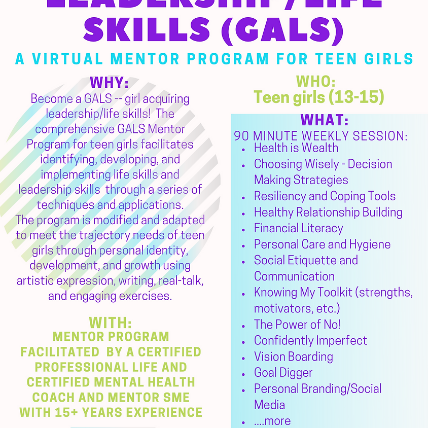 GALS Mentor Program 13-15