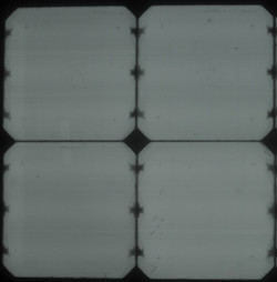 Electroluminescense test