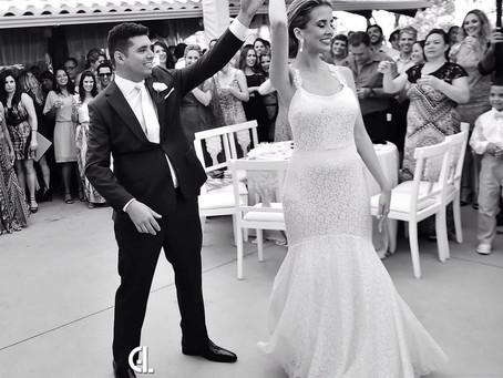 A primeira dança do casal