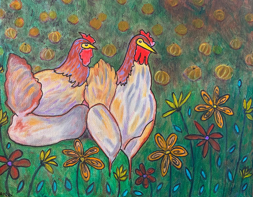 Whimsical Chickens_1