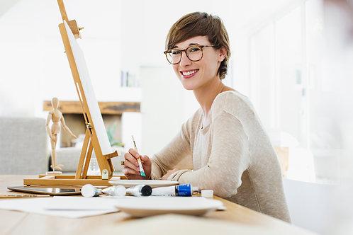 Peinture à l'huile et dessin (Ado-adultes)