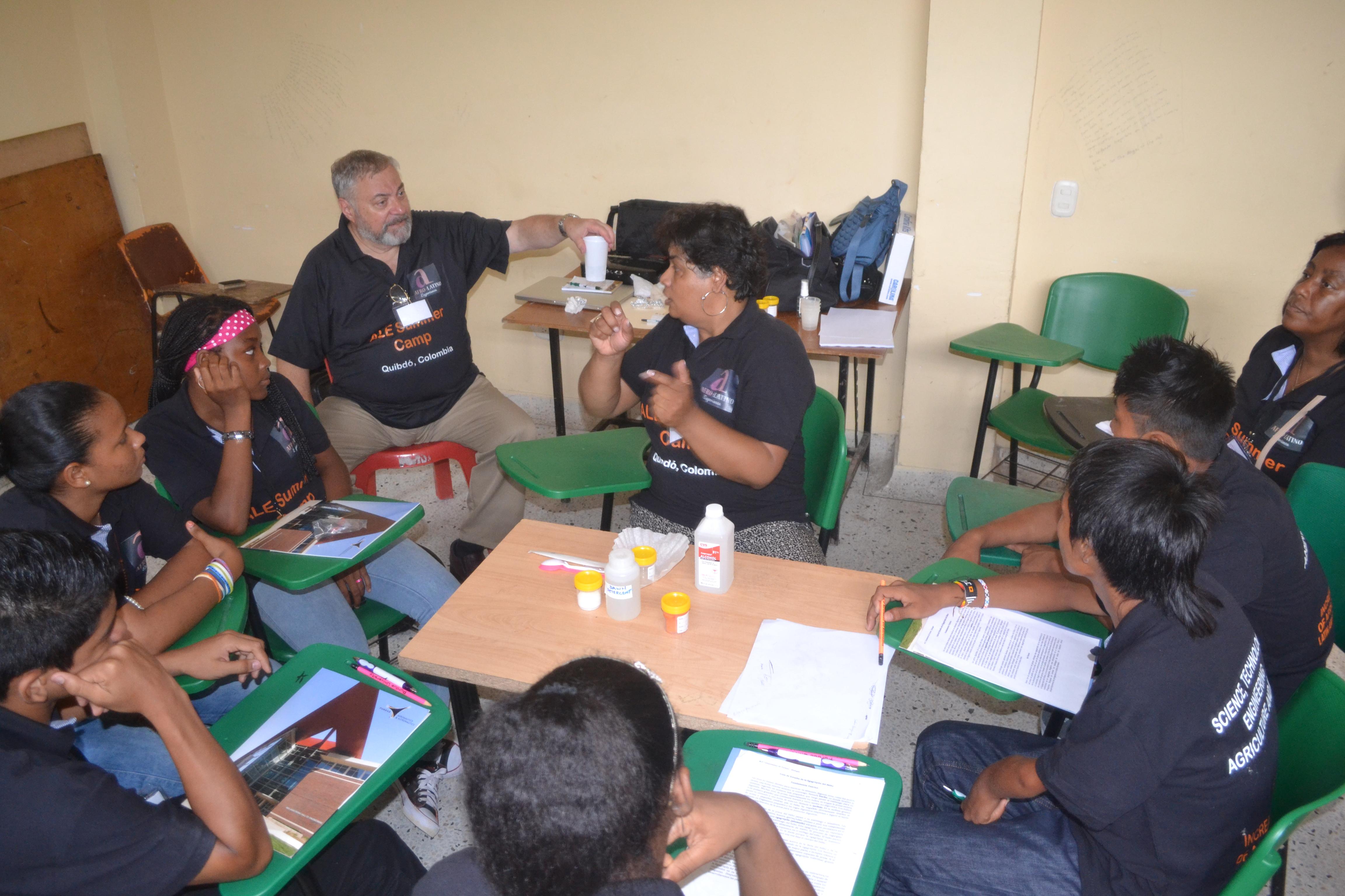 Pilot ALE Summer Camp Quibdó 2015