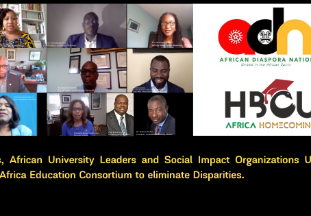 HBCUs and  African University Leaders unite in HBCU Africa Education Consortium against Disparities