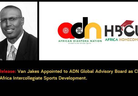 Van Jakes Appointed to ADN Global Advisory Board