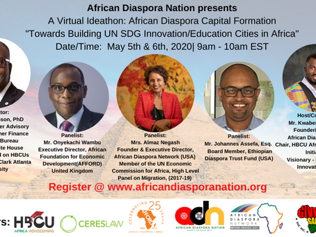 African Diaspora aims to Catalyze UN SDG Goal-Keeping by setting Audacious City Building Goal.