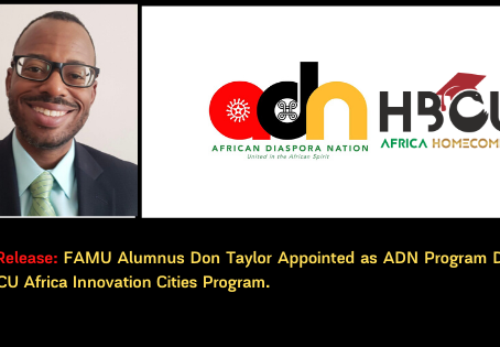 FAMU Alumnus Don Taylor Appointed as Program Director for HBCU Africa Innovation Cities Program