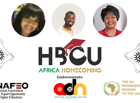 Media Launch: African Union Mission and NAFEO Endorse ADN's HBCU Africa Homecoming Initiative