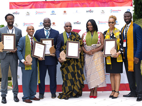 Morgan State University President, Dr. David Wilson receives HBCU Global Leadership Award in Ghana