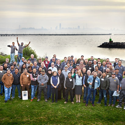 Group photo of MN Builders crew.