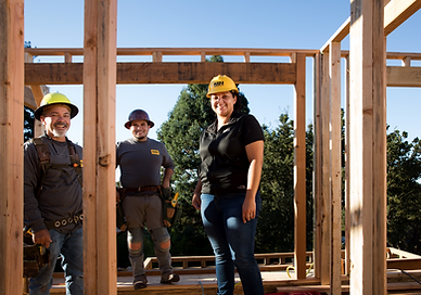 MN Builders on residential construction jobsite.
