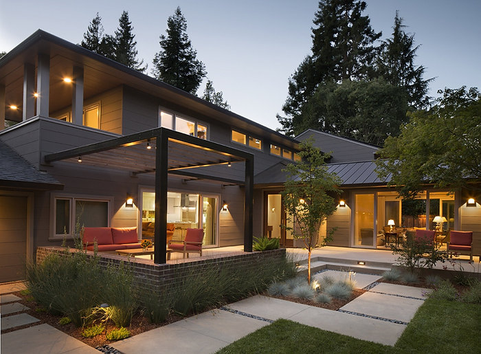 Beautiful example of a residential construction project completed by MN Builders.