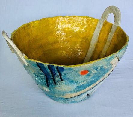 Sun,sea and sky bowl, large